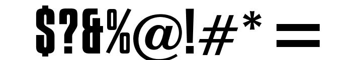OPTICompit-Regular Font OTHER CHARS