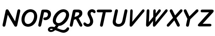 OPTICookeSans-BoldItalic Font UPPERCASE