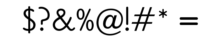 OPTICookeSans Font OTHER CHARS