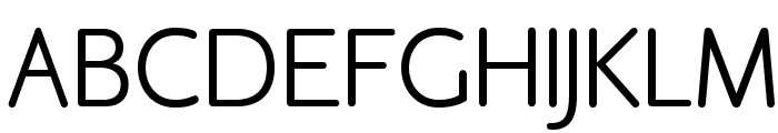 OPTICookeSans Font UPPERCASE