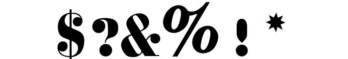 OPTICorvinus-Bold Font OTHER CHARS