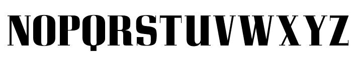 OPTICorvinus-Bold Font UPPERCASE