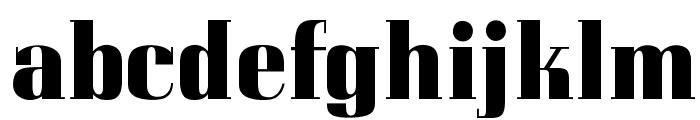 OPTICorvinus-Bold Font LOWERCASE