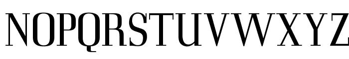 OPTICorvinus-Light Font UPPERCASE