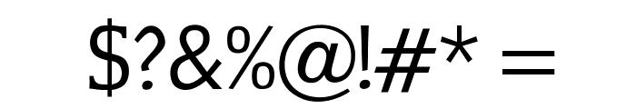 OPTICounsilRoman Font OTHER CHARS