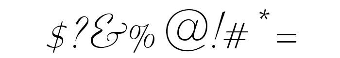 OPTICoyonet Font OTHER CHARS