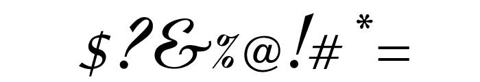 OPTICoyonetBold Font OTHER CHARS