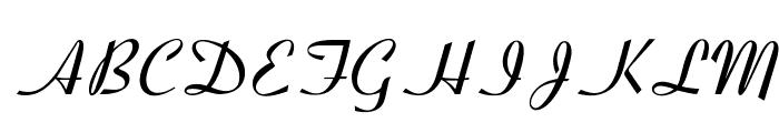 OPTICoyonetBold Font UPPERCASE