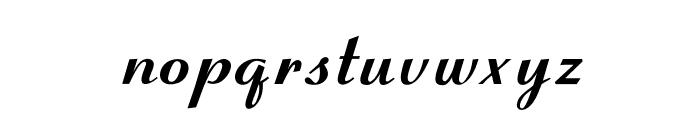OPTICoyonetBold Font LOWERCASE