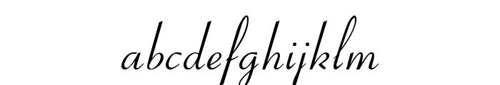 OPTICoyonet Font LOWERCASE