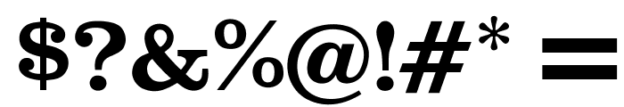 OPTICraw-Clarendon Font OTHER CHARS
