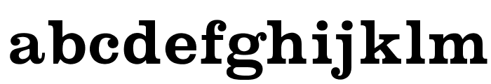 OPTICraw-Clarendon Font LOWERCASE