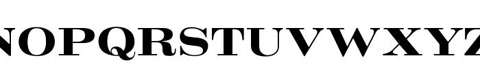 OPTICrawModern-Bold Font UPPERCASE