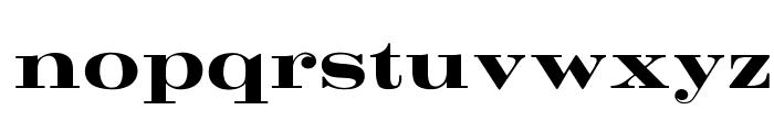 OPTICrawModern-Bold Font LOWERCASE