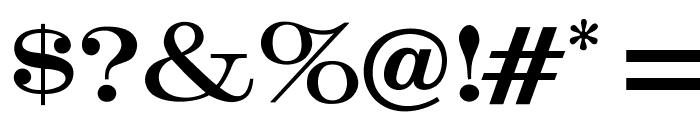 OPTICrawModern Font OTHER CHARS