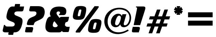 OPTICristeta-BoldItalic Font OTHER CHARS