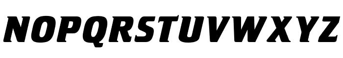 OPTICristeta-BoldItalic Font UPPERCASE