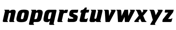 OPTICristeta-BoldItalic Font LOWERCASE