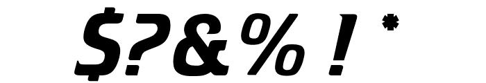 OPTICristeta-Italic Font OTHER CHARS