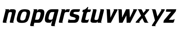 OPTICristeta-Italic Font LOWERCASE