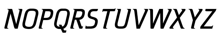 OPTICristetaLite-Italic Font UPPERCASE