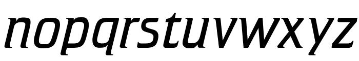 OPTICristetaLite-Italic Font LOWERCASE