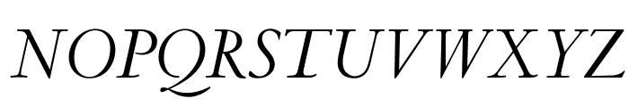 OPTICubaLibre-Italic Font UPPERCASE
