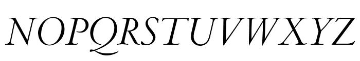 OPTICubaLibreTwo-Italic Font UPPERCASE