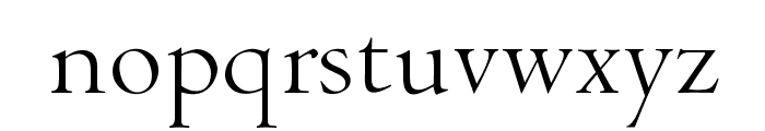 OPTICubaLibreTwo Font LOWERCASE
