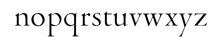 OPTICubaLibre Font LOWERCASE