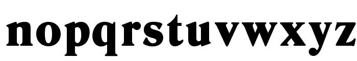 OPTIDanley-ExtraBold Font LOWERCASE