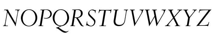 OPTIDeRoos-Italic Font UPPERCASE