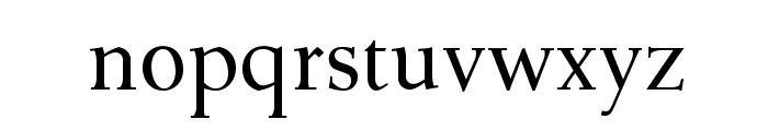 OPTIDeRoos-SemiBold Font LOWERCASE