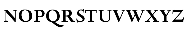 OPTIDeepdene-Bold Font UPPERCASE