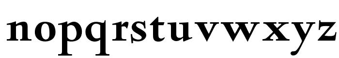 OPTIDeepdene-Bold Font LOWERCASE