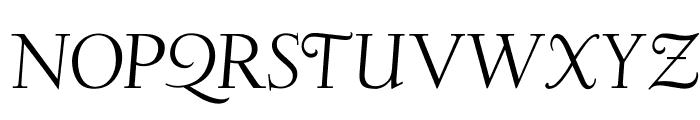 OPTIDeligne-Italic Font UPPERCASE
