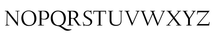 OPTIDeligne-Normal Font UPPERCASE