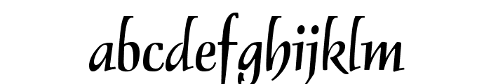 OPTIDelphin-Two Font LOWERCASE