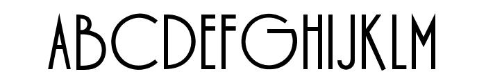 OPTIDesign-Medium Font UPPERCASE