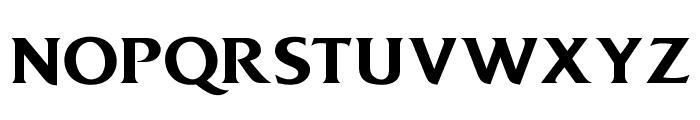 OPTIDiamond-DemiBold Font UPPERCASE