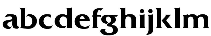 OPTIDiamond-DemiBold Font LOWERCASE