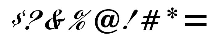 OPTIDiannaScript-BoldAgen Font OTHER CHARS