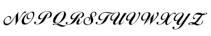 OPTIDiannaScript-BoldAgen Font UPPERCASE