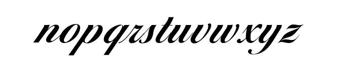 OPTIDiannaScript-BoldAgen Font LOWERCASE