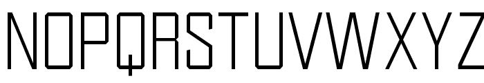 OPTIDistinctSLExtraLight Font UPPERCASE
