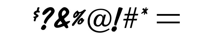 OPTIDom-Diagonal Font OTHER CHARS