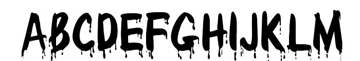 OPTIDracula Font UPPERCASE