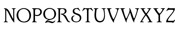 OPTIEdwalianLight Font UPPERCASE