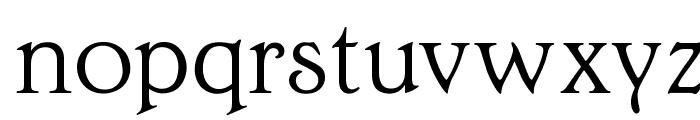 OPTIEdwalianLight Font LOWERCASE