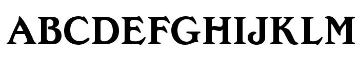 OPTIEdwallian-Bold Font UPPERCASE